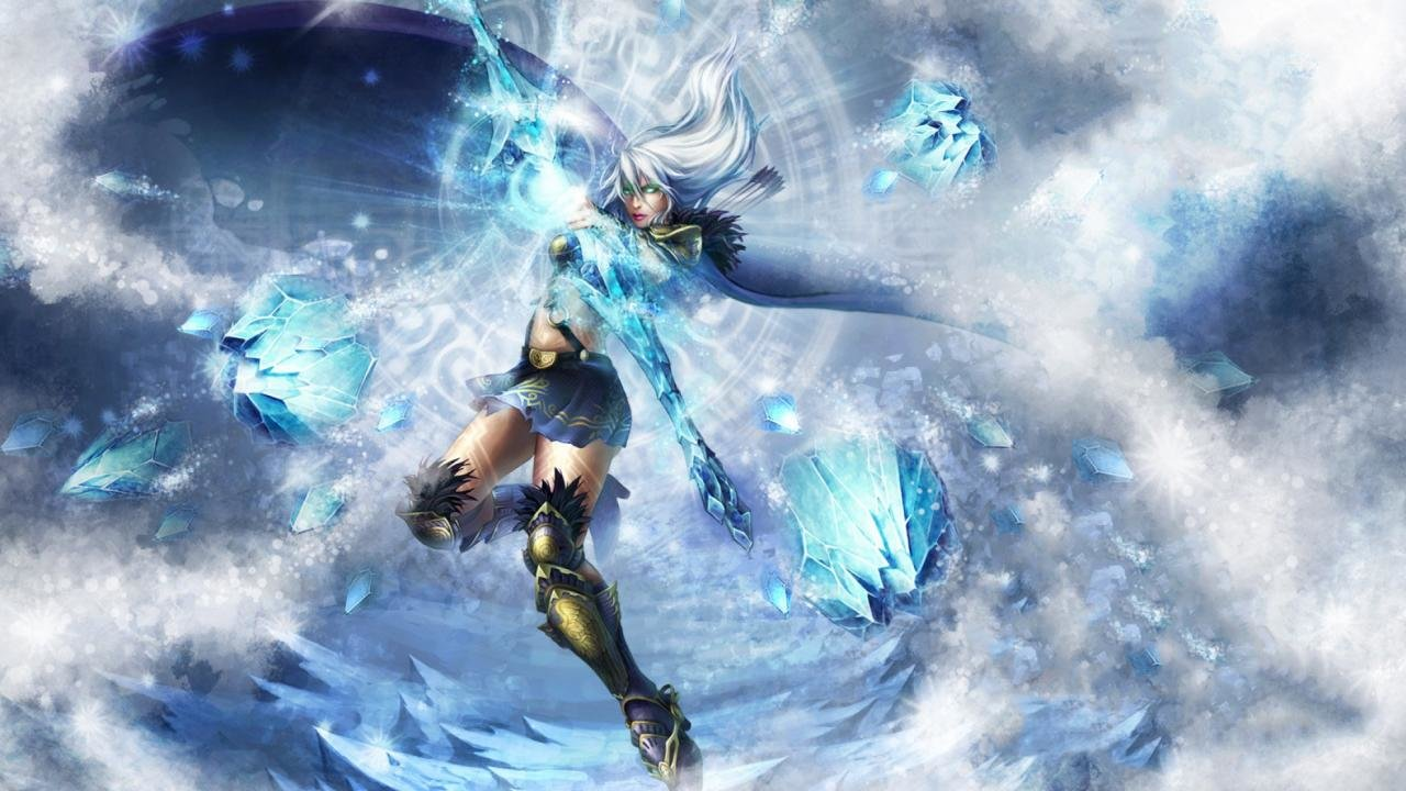 Best Ashe (League Of Legends) wallpaper ID:172499 for High Resolution 720p computer