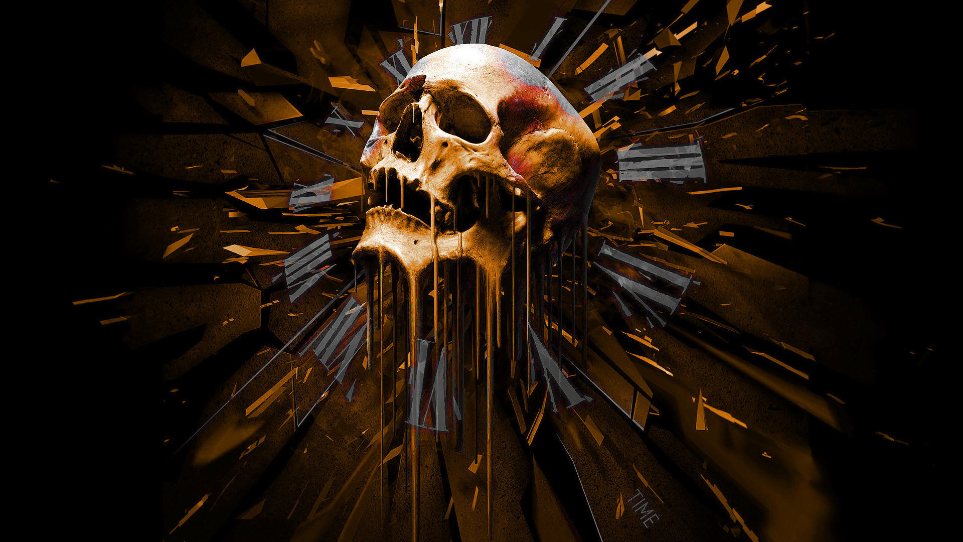 Awesome Skull free background ID:320506 for full hd 1080p desktop