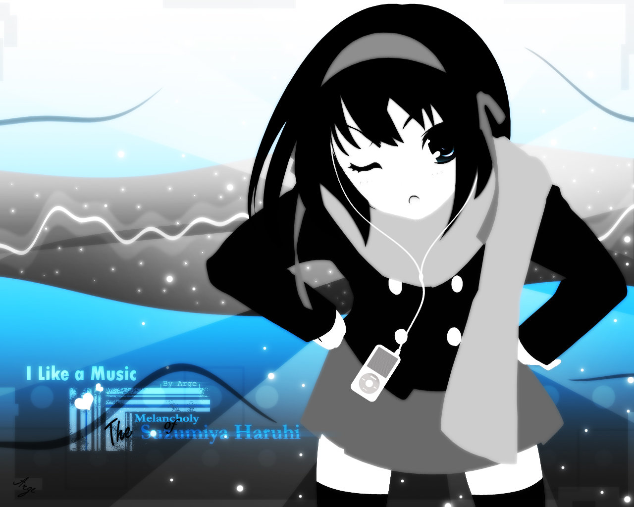 High resolution The Melancholy Of Haruhi Suzumiya hd 1280x1024 wallpaper ID:139527 for PC