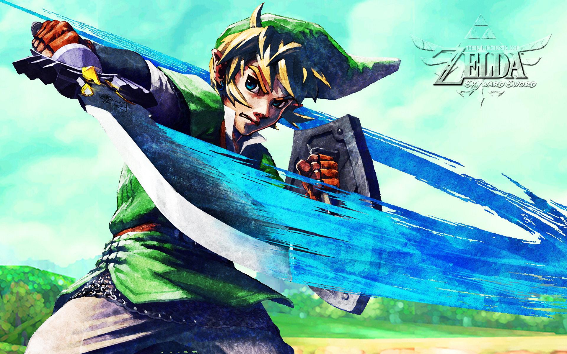 The Legend Of Zelda Skyward Sword Wallpapers Hd For Desktop