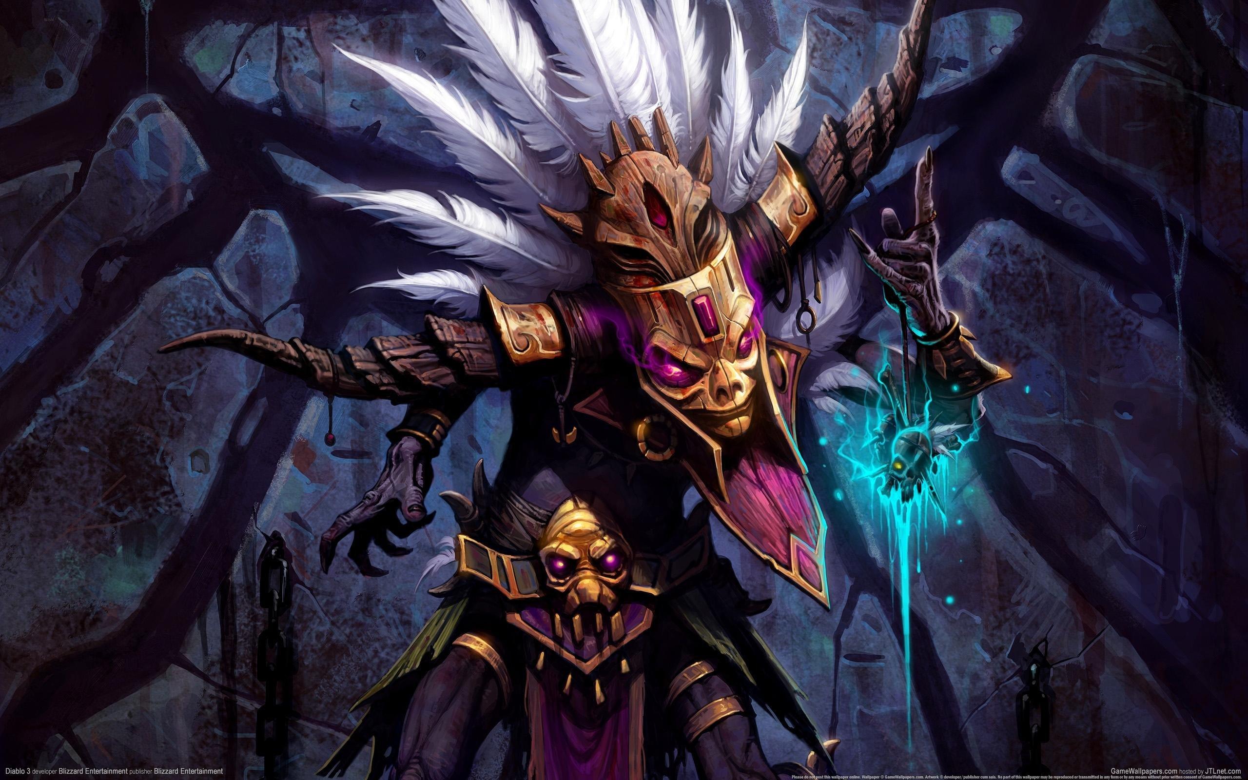 Download Hd 2560x1600 Diablo 3 Pc Wallpaper Id30889 For Free