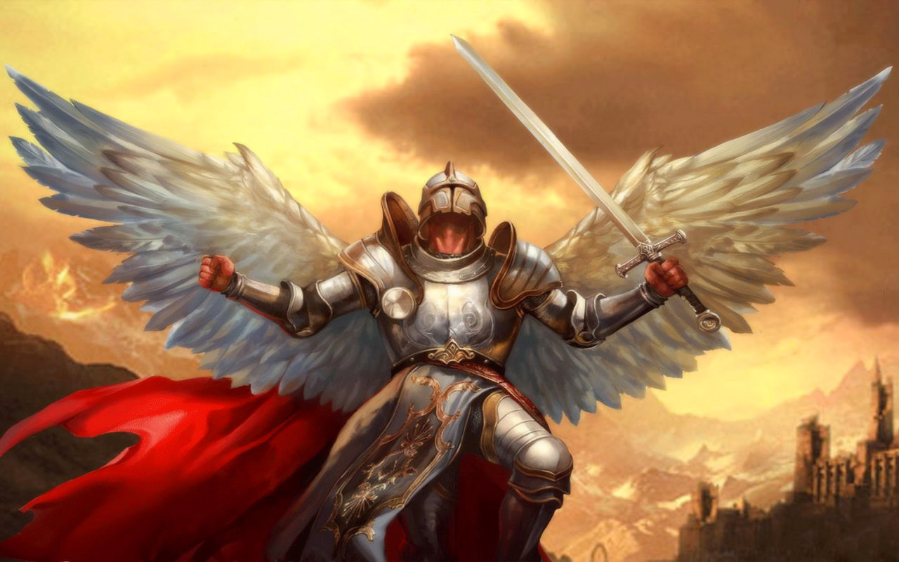 Download hd 1280x800 Angel Warrior computer wallpaper ID:352214 for free