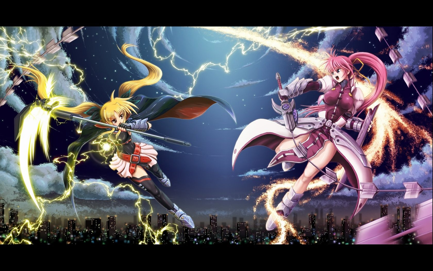 Awesome Magical Girl Lyrical Nanoha free wallpaper ID:297572 for hd 1680x1050 PC