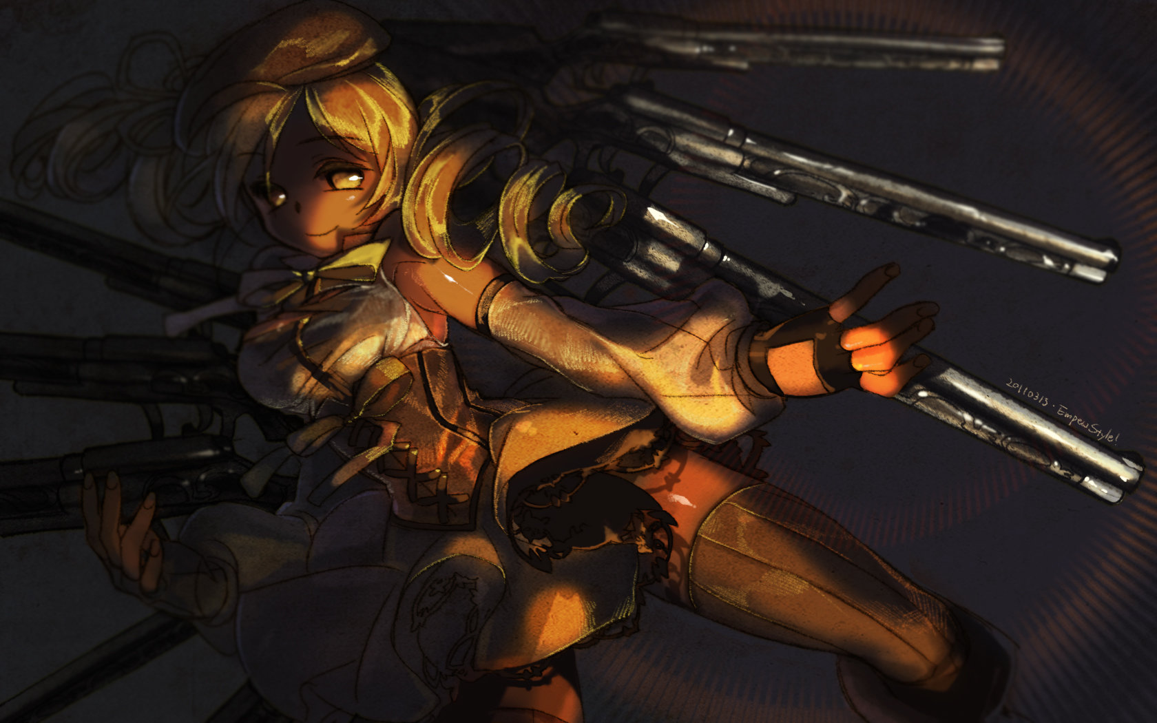 Best Mami Tomoe wallpaper ID:32500 for High Resolution hd 1680x1050 desktop