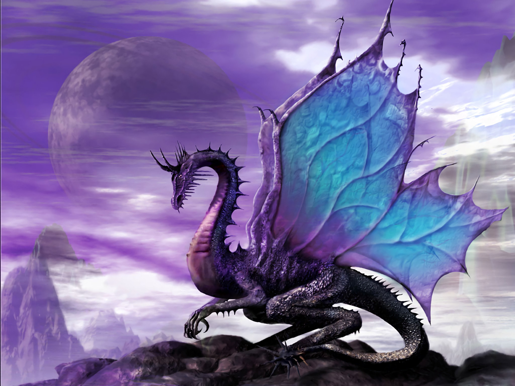 Download hd 2048x1536 Dragon computer background ID:146445 for free