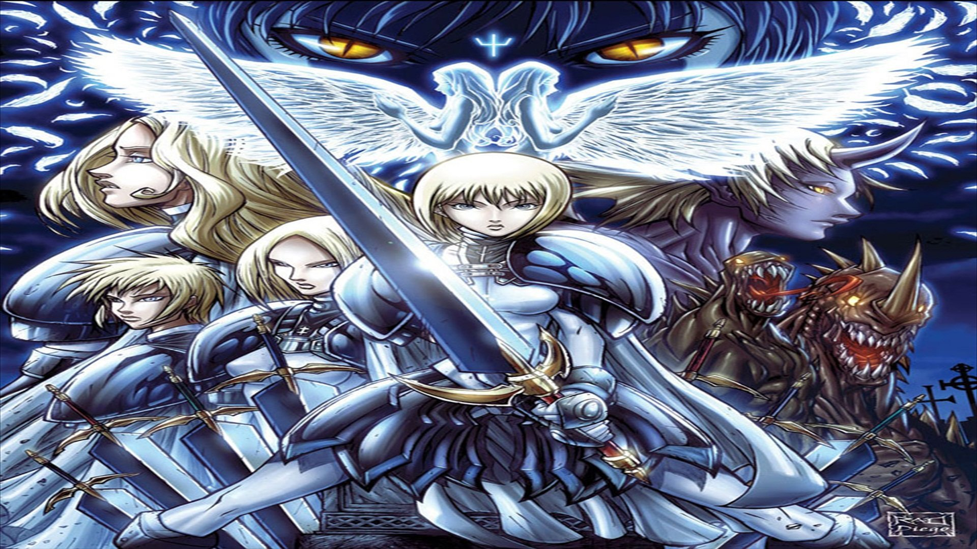 Best Claymore wallpaper ID:351339 for High Resolution hd 1080p desktop