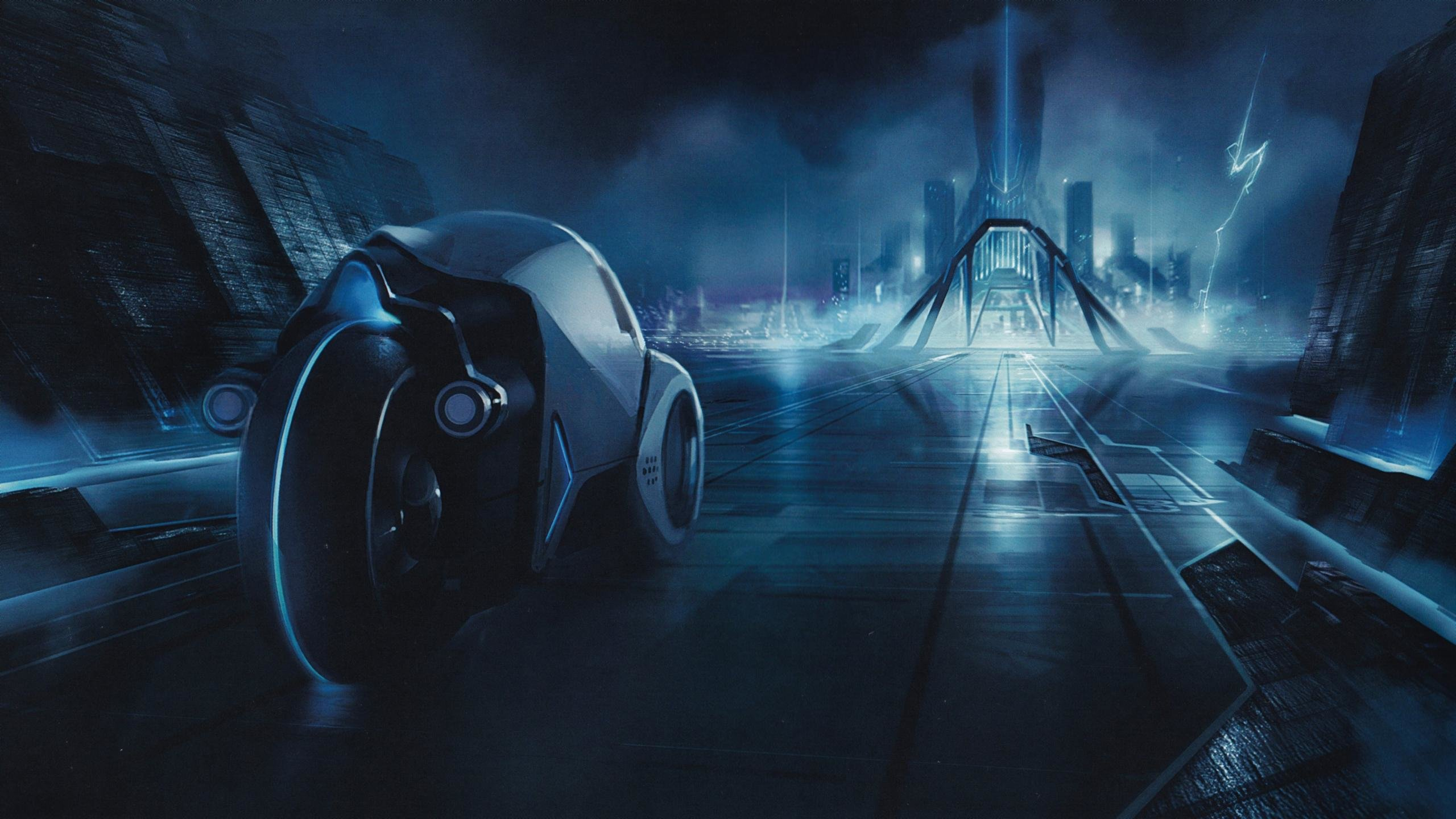 Free download TRON: Legacy background ID:379670 hd 2560x1440 for computer