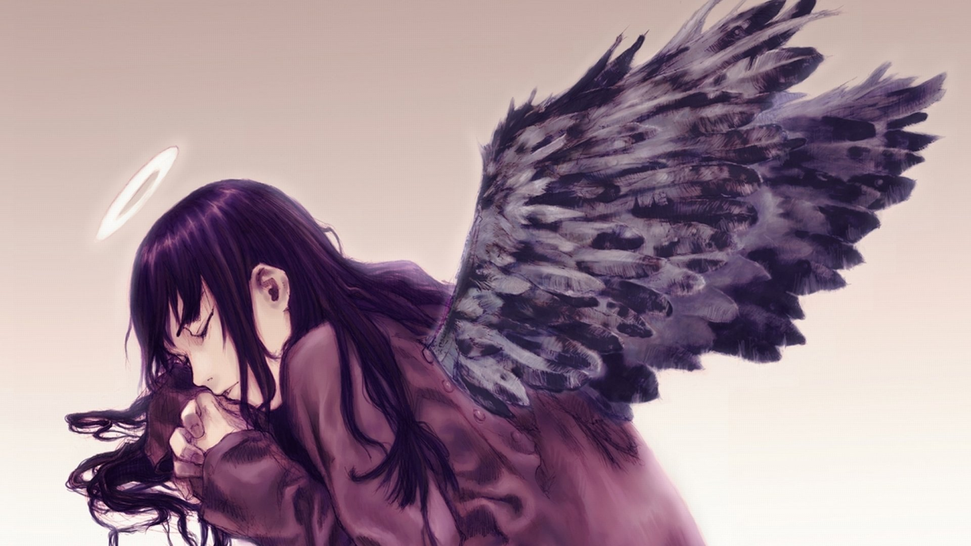 Download hd 1920x1080 Haibane Renmei desktop wallpaper ID:467873 for free