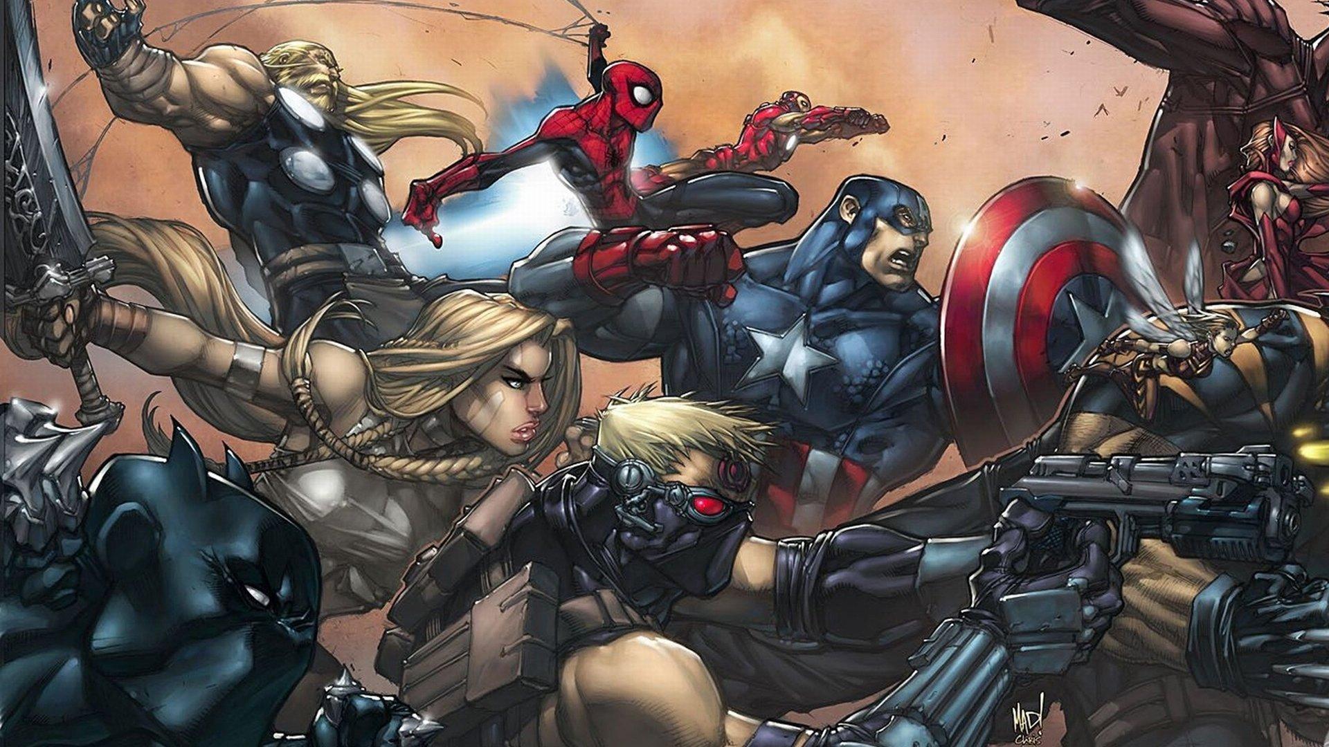 Ultimate Marvel Vs Capcom 3 Wallpapers Hd For Desktop Backgrounds