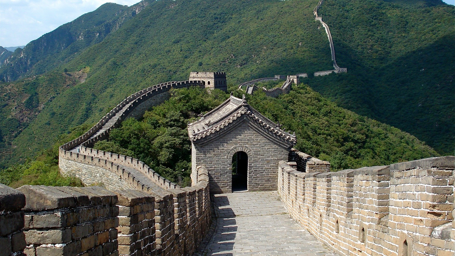 high resolution great wall of china full hd 1920x1080 background id