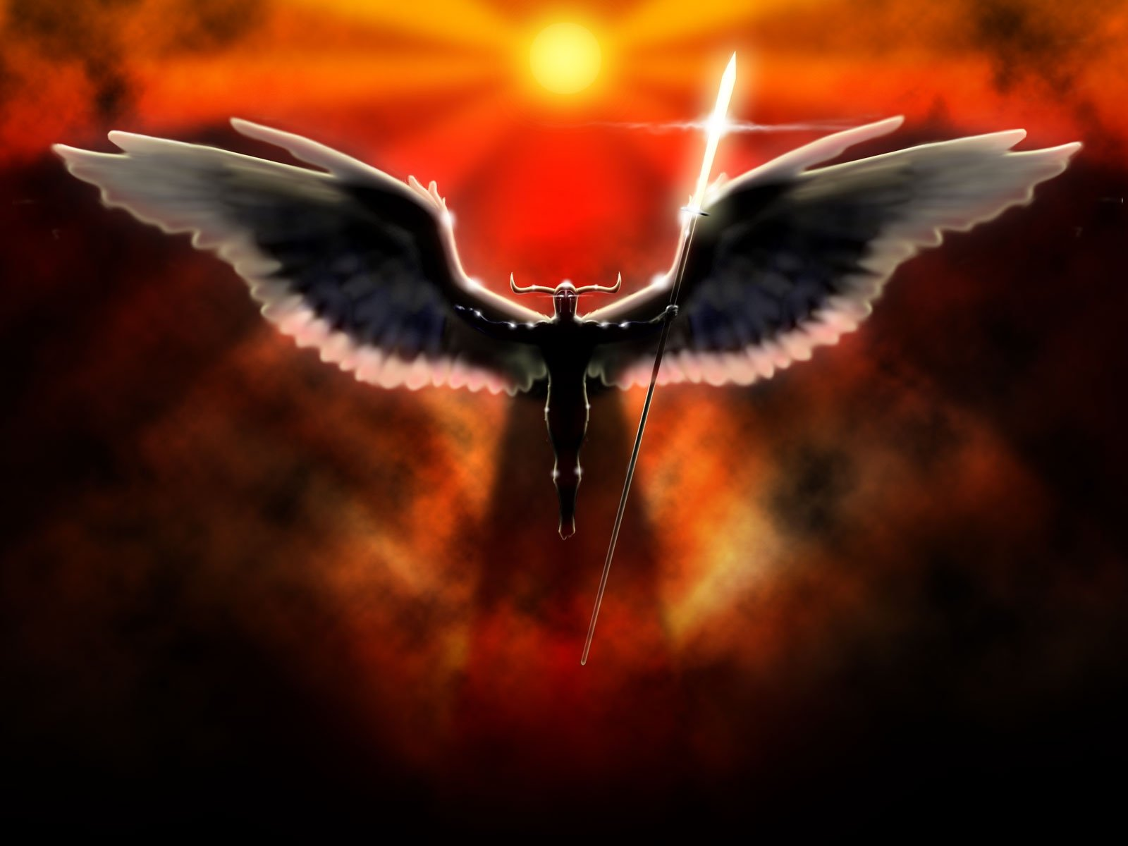 Free download Angel Warrior background ID:352356 hd 1600x1200 for desktop