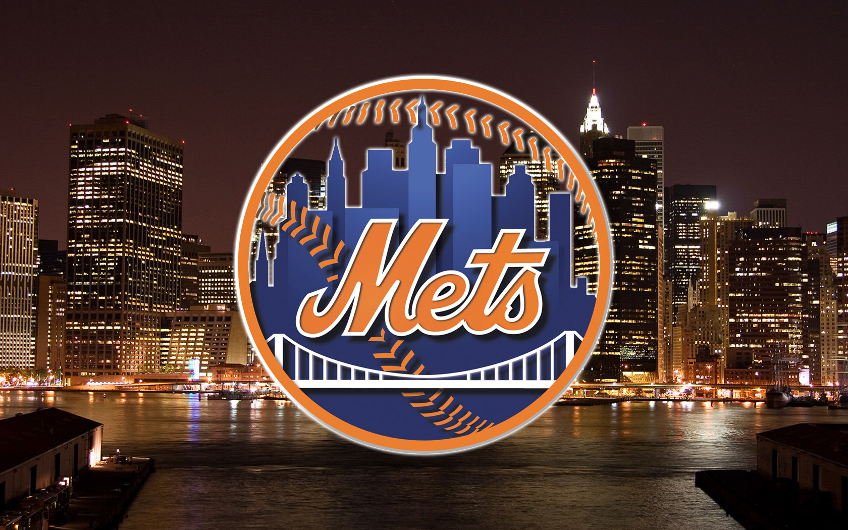 Download hd 1680x1050 New York Mets PC wallpaper ID:118791 for free
