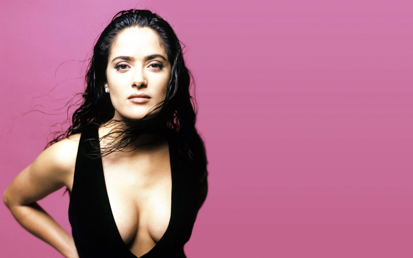 Awesome Salma Hayek free background ID:96925 for hd 1680x1050 PC
