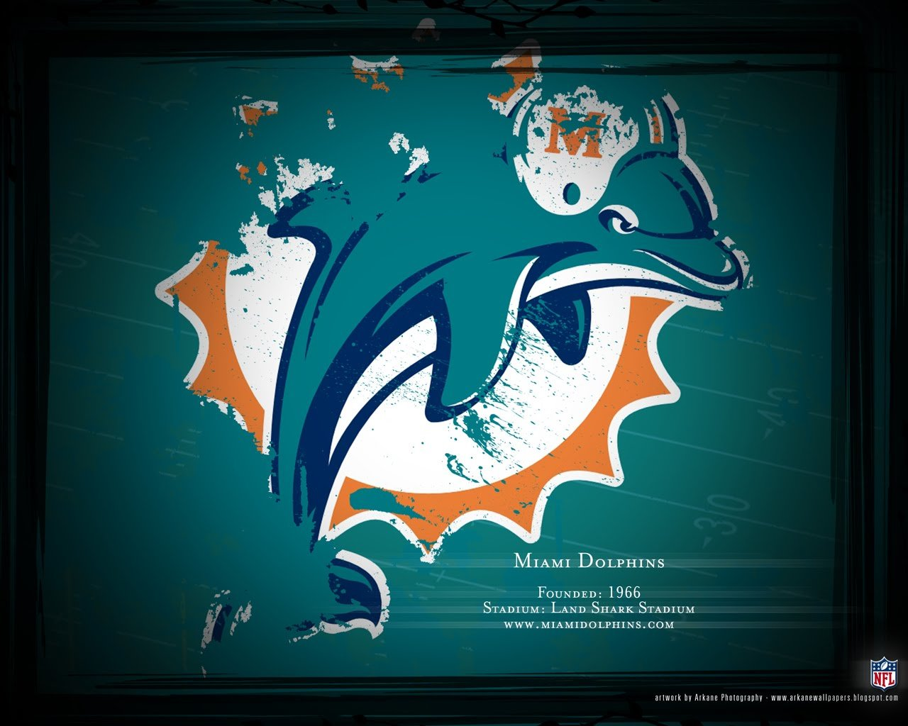 Free download Miami Dolphins background ID:469493 hd 1280x1024 for computer
