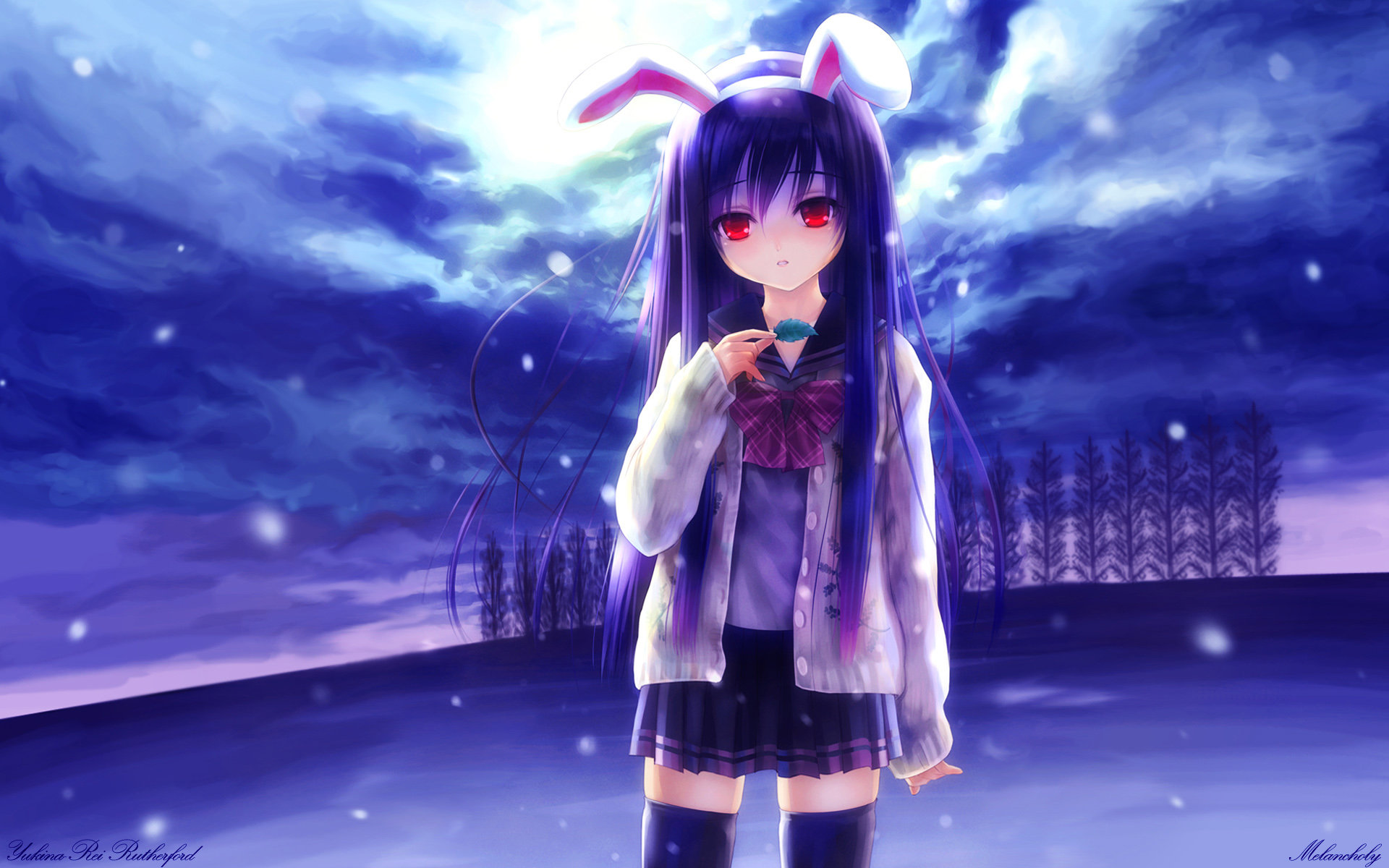 Download hd 1920x1200 Reisen Udongein Inaba PC wallpaper ID:225582 for free