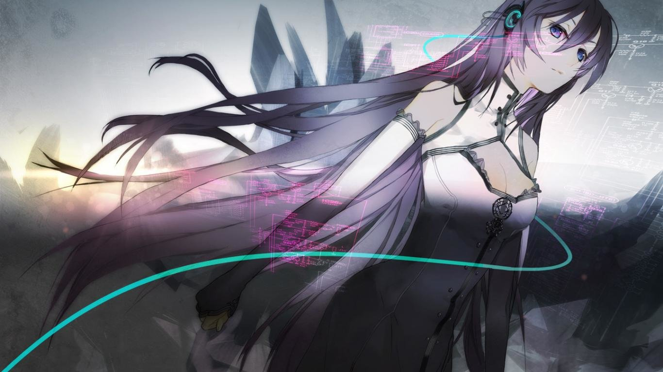 Best Vocaloid background ID:1840 for High Resolution 1366x768 laptop computer