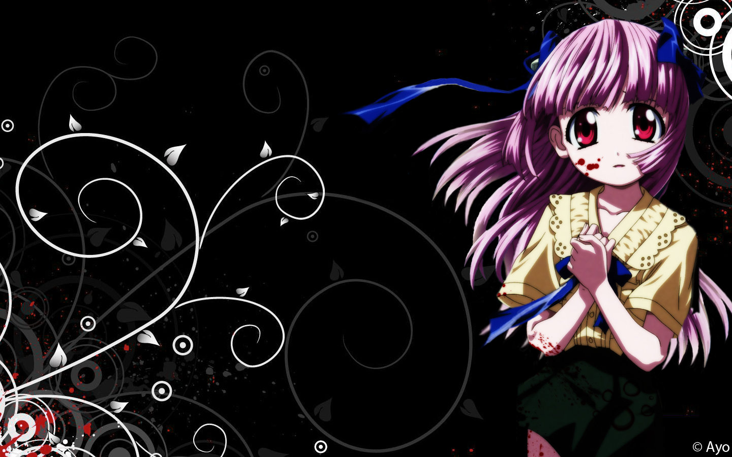 Free Elfen Lied high quality wallpaper ID:384119 for hd 1440x900 PC