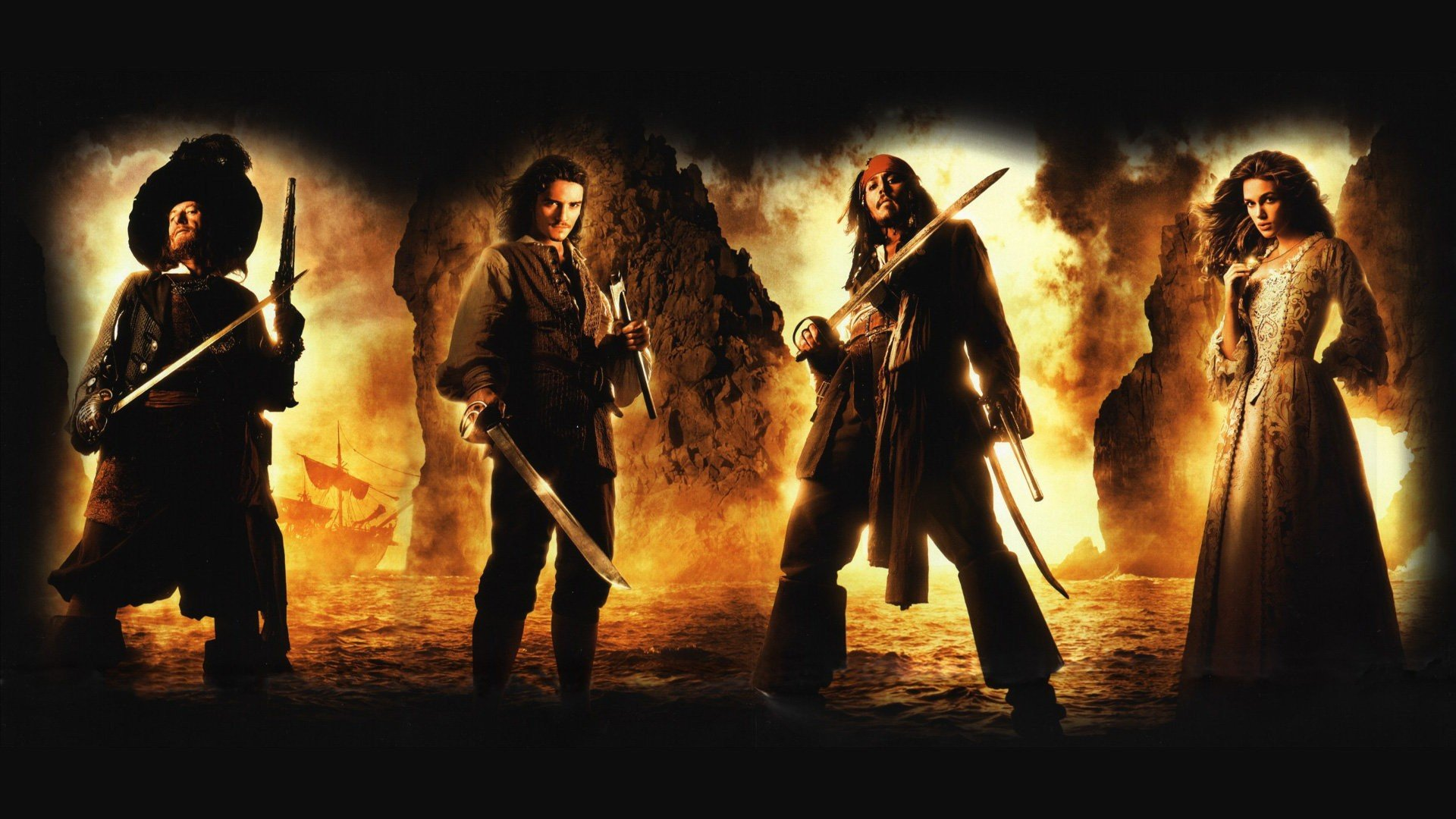 Pirates Of The Caribbean Wallpapers 1920x1080 Full Hd 1080p