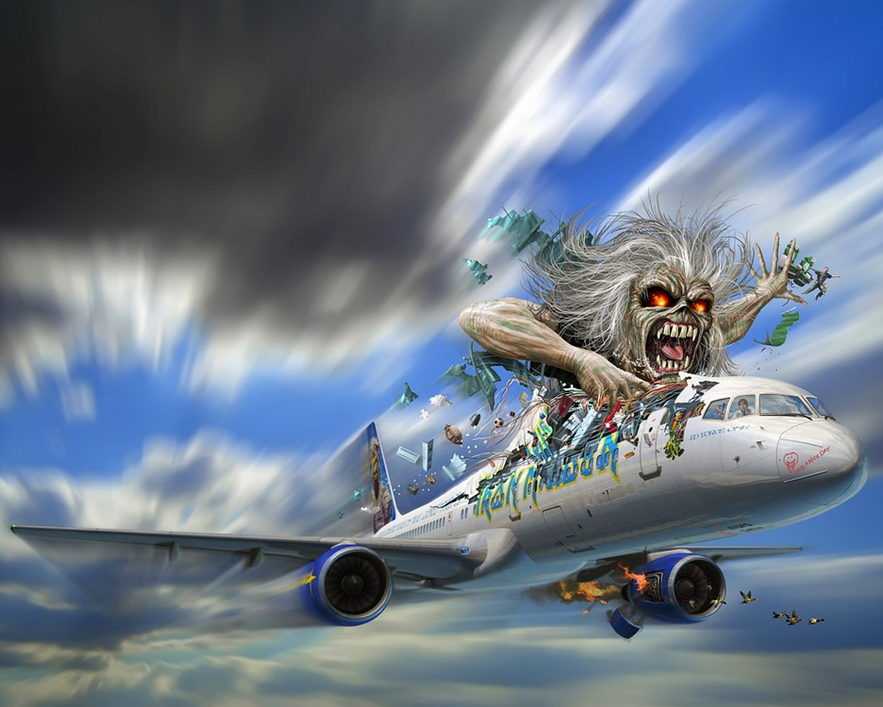 High resolution Iron Maiden hd 1280x1024 wallpaper ID:72526 for desktop