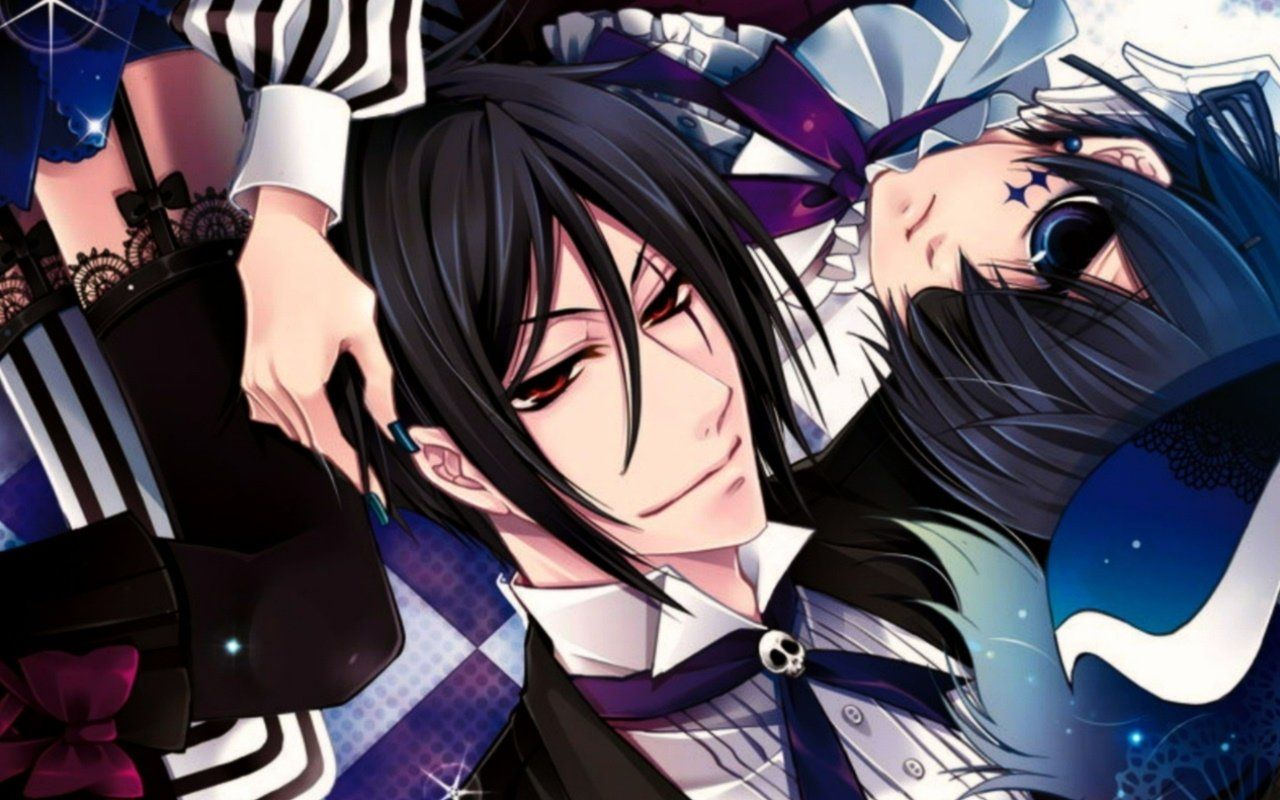 Free download Black Butler background ID:446712 hd 1280x800 for PC