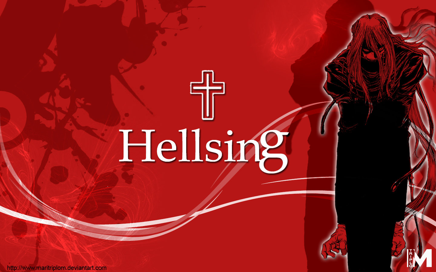Awesome Hellsing free background ID:329553 for hd 1440x900 computer