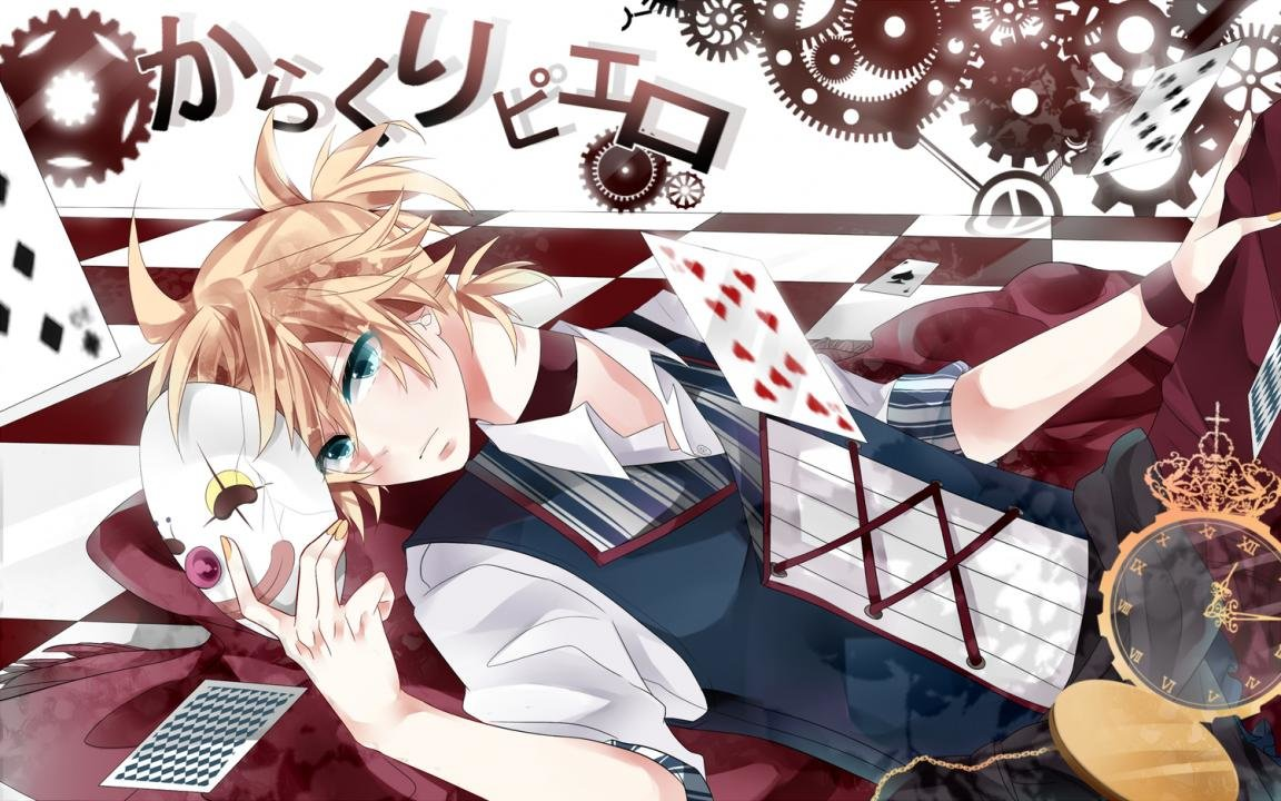 Free download Len Kagamine wallpaper ID:914 hd 1152x720 for PC