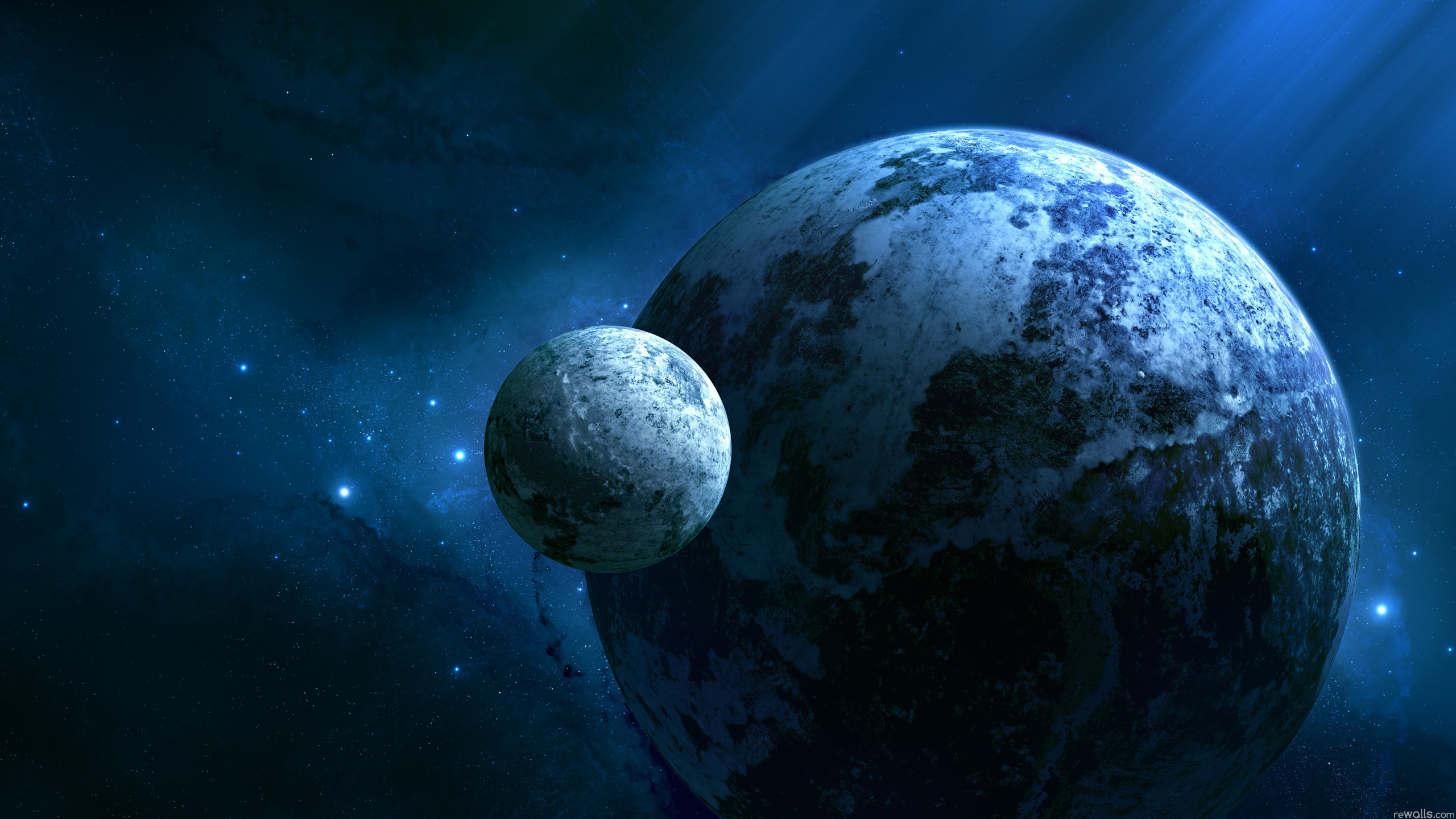 High resolution Planets hd 2560x1440 background ID:152739 for PC