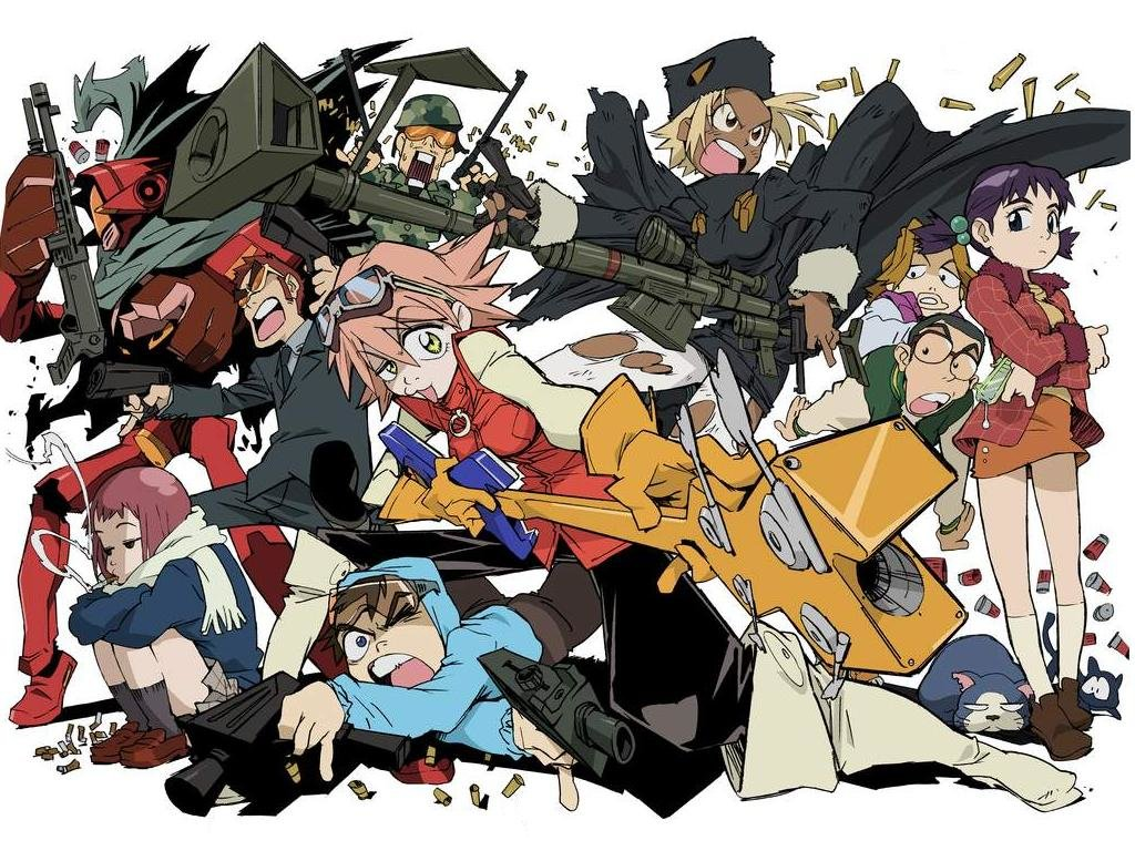 Download hd 1024x768 FLCL PC wallpaper ID:339487 for free