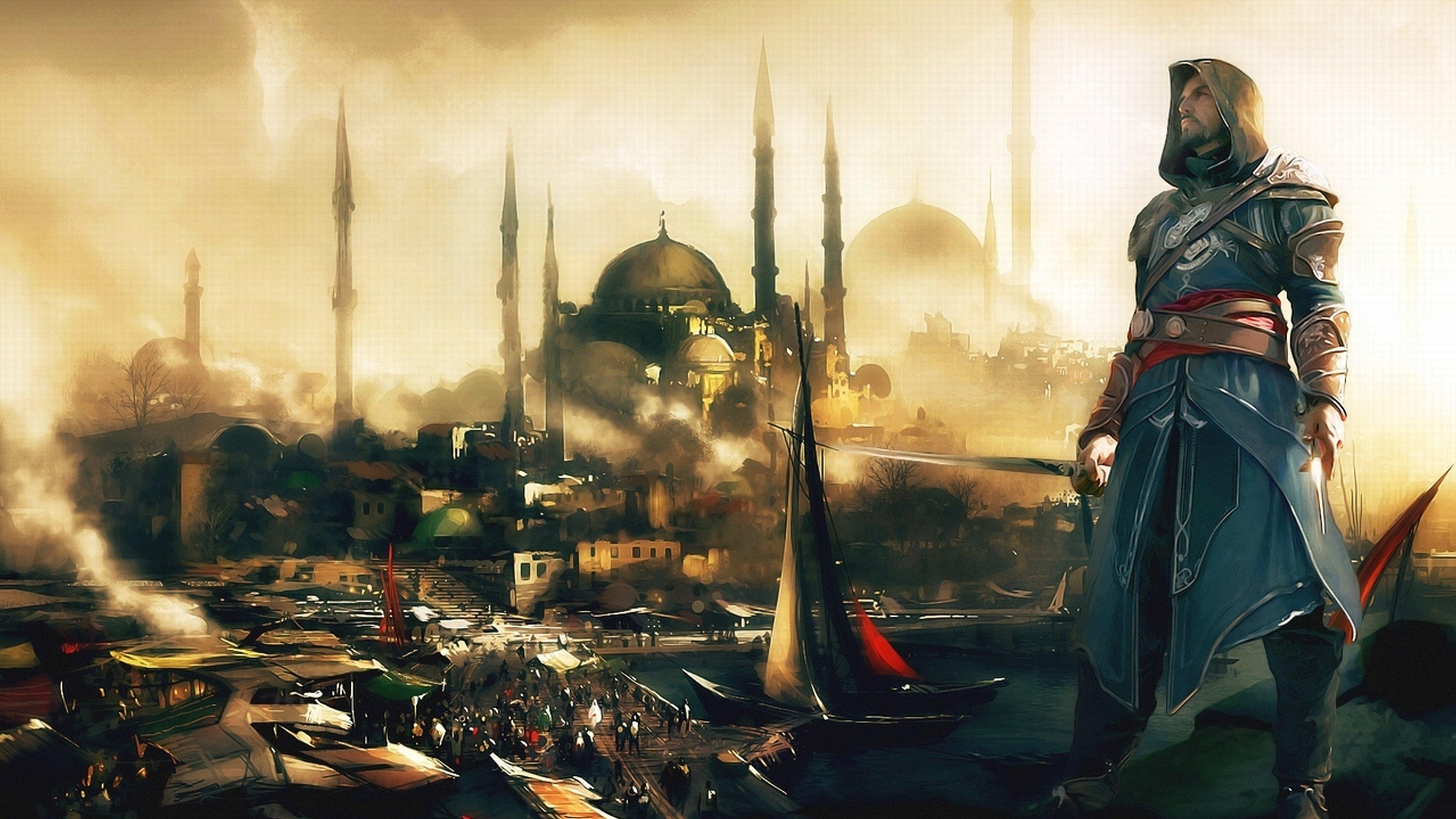 Assassins Creed Revelations Wallpapers 3840x2160 Ultra Hd 4k