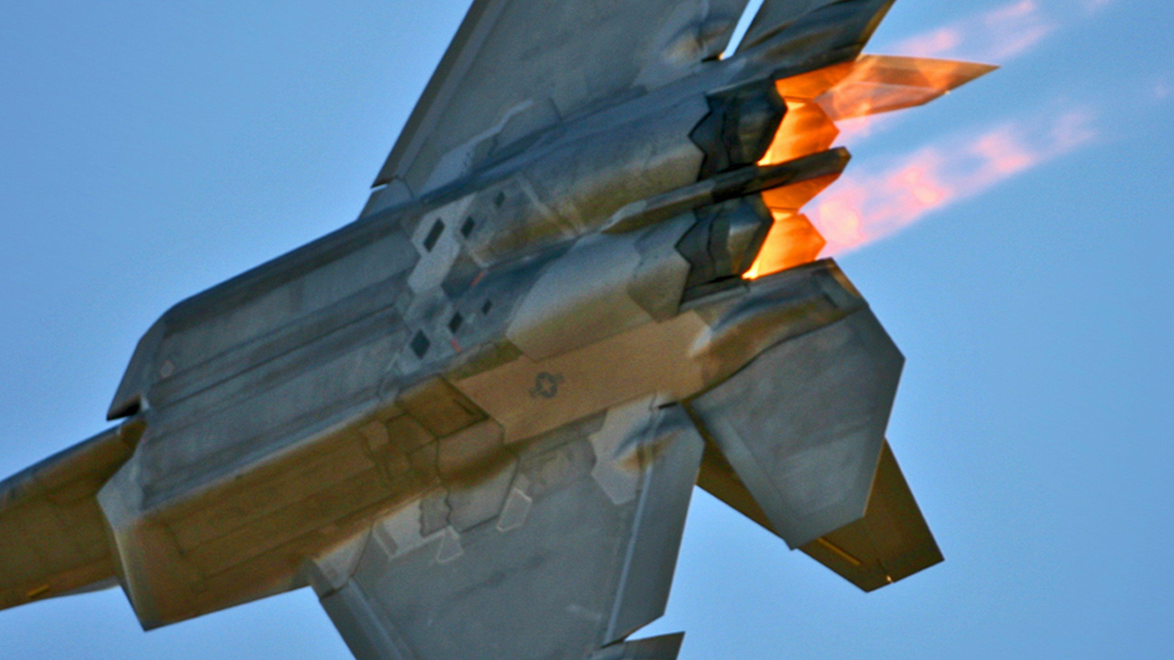 Lockheed Martin F 22 Raptor Wallpapers 3840x2160 Ultra Hd 4k