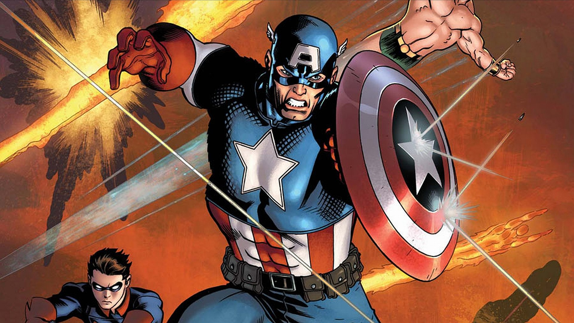 Download full hd Captain America (Marvel comics) computer wallpaper ID:292966 for free