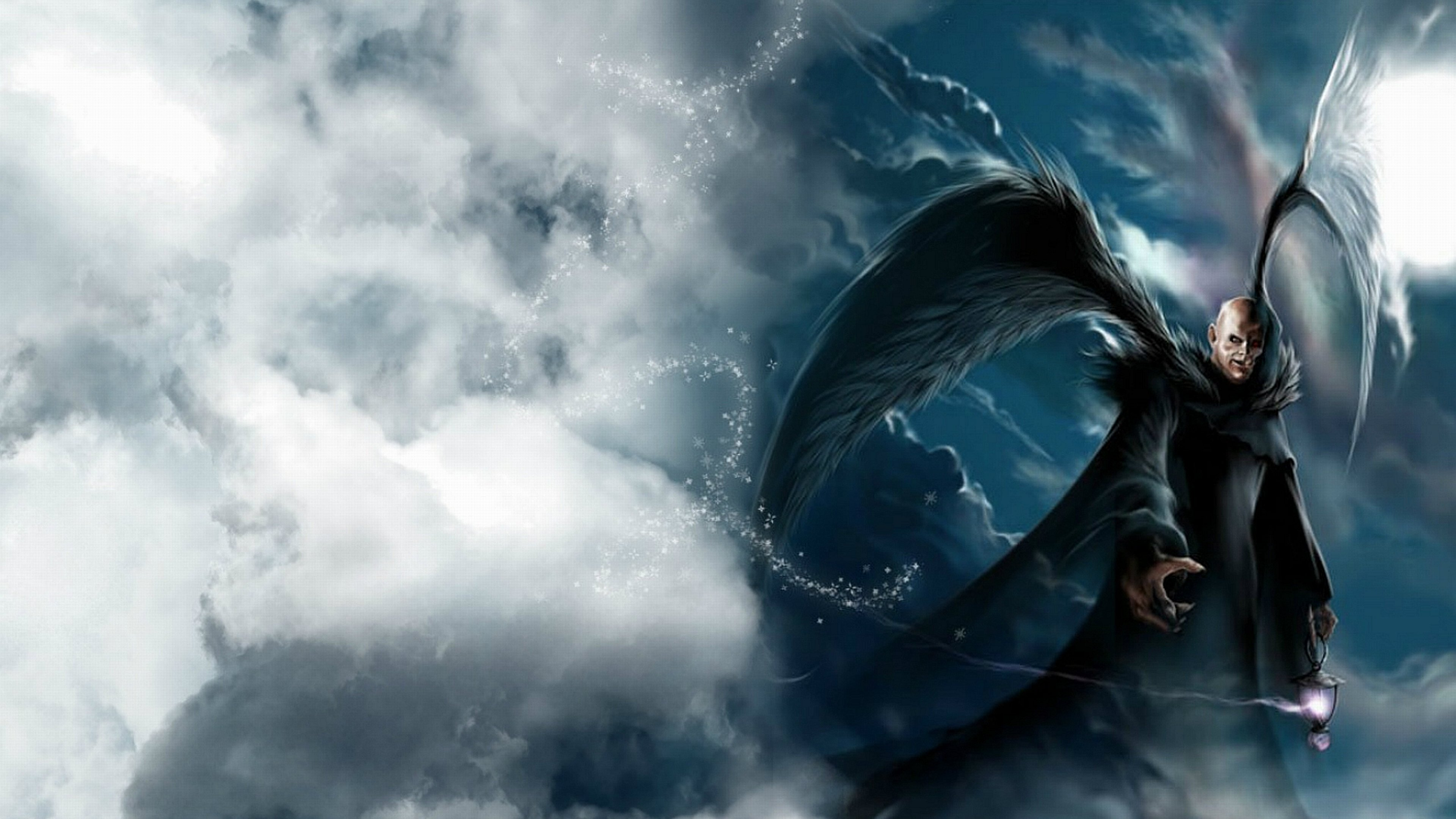 Download Ultra Hd 4k Dark Angel Pc Wallpaper Id142238 For Free