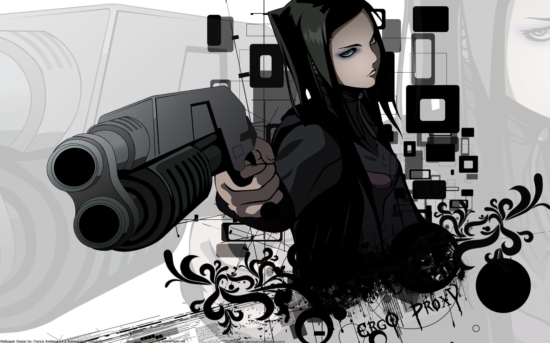 Download hd 1920x1200 Ergo Proxy desktop background ID:156797 for free