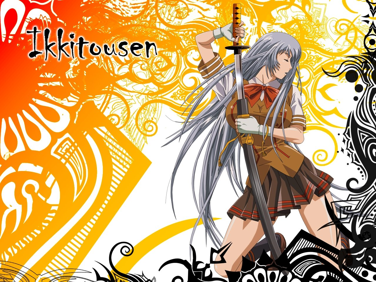 Download hd 1280x960 Ikki Tousen PC background ID:126101 for free
