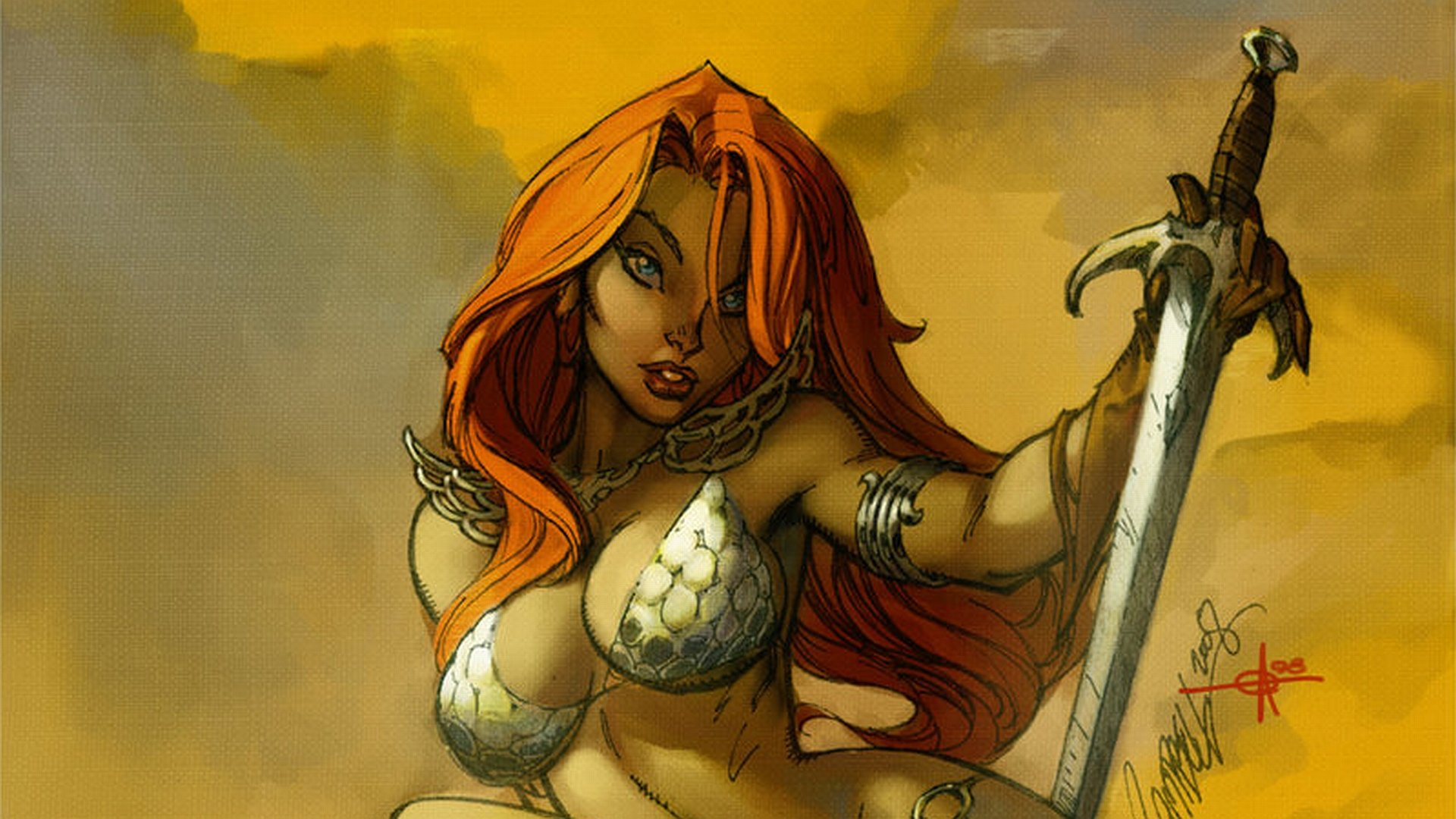 Download hd 1080p Red Sonja desktop background ID:449774 for free