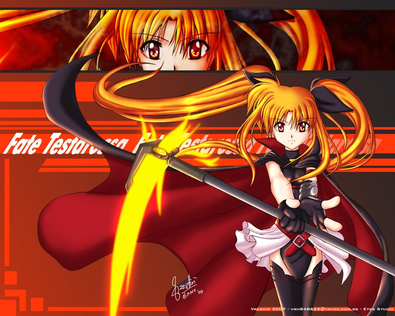 Best Magical Girl Lyrical Nanoha background ID:297588 for High Resolution hd 1280x1024 PC