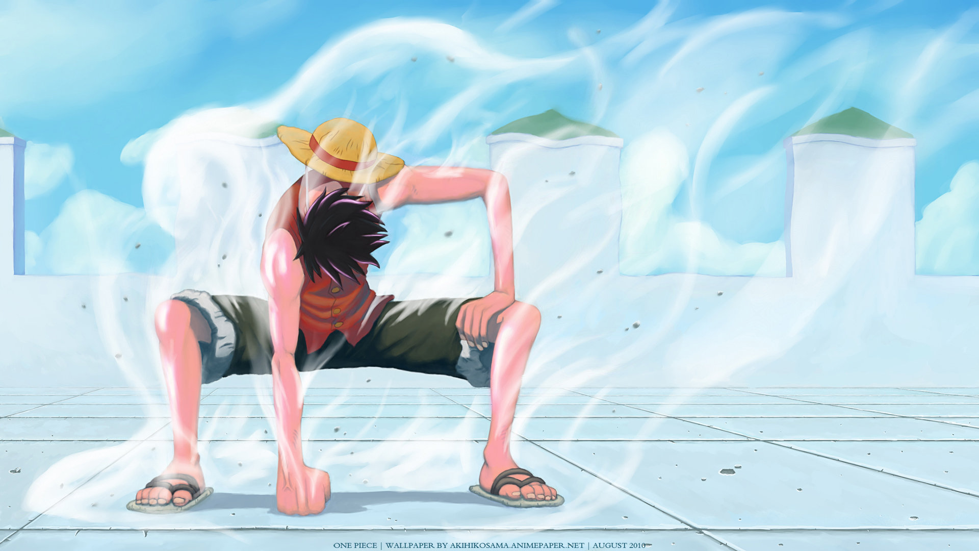 Download Full Hd 1080p Monkey D Luffy Desktop Wallpaper Id 313998