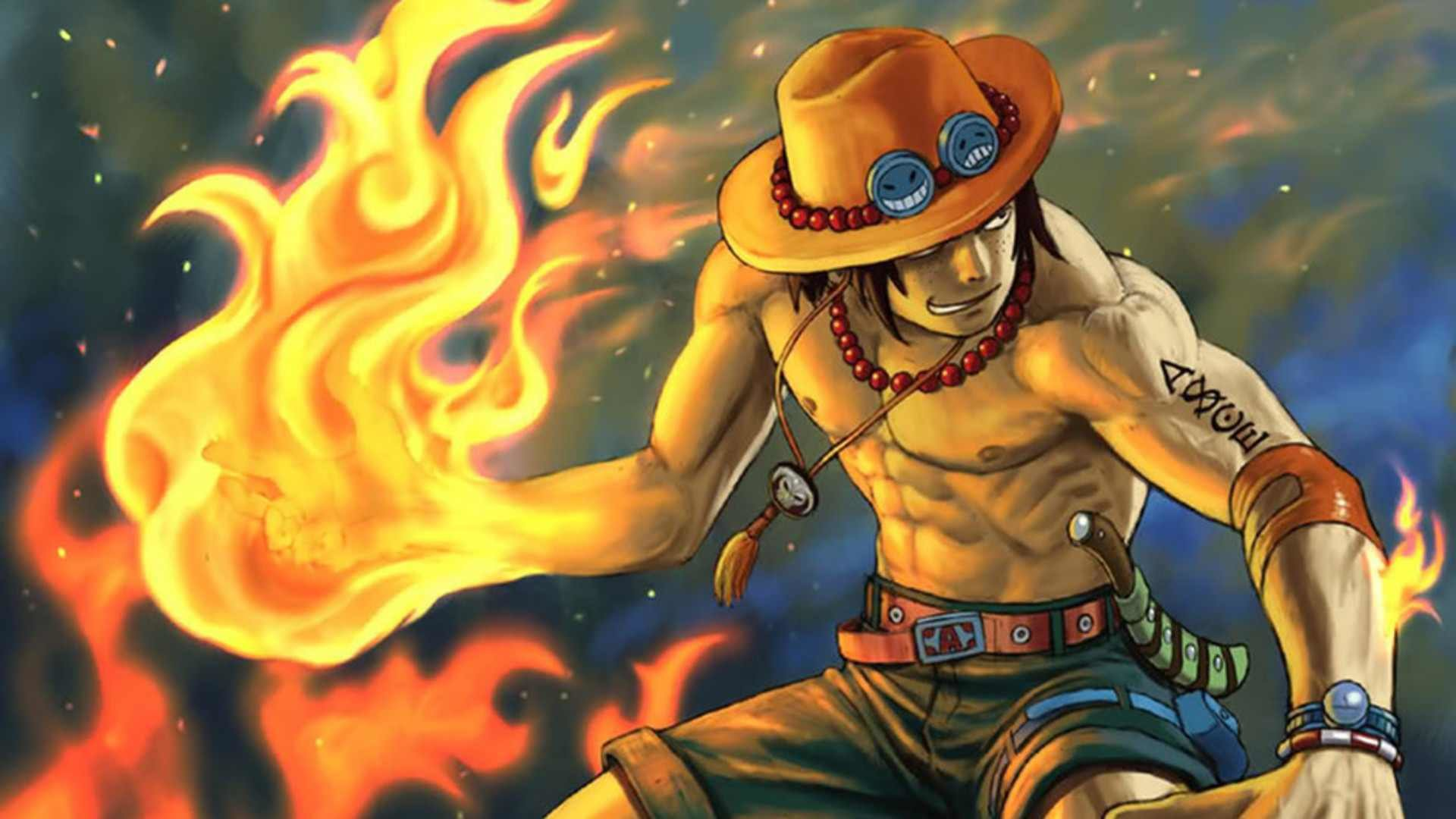 Awesome Portgas D. Ace free background ID:313955 for hd 1080p desktop