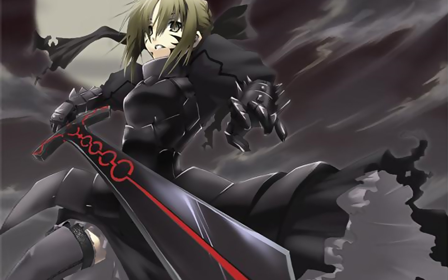 High resolution Saber Alter hd 1440x900 background ID:468722 for PC