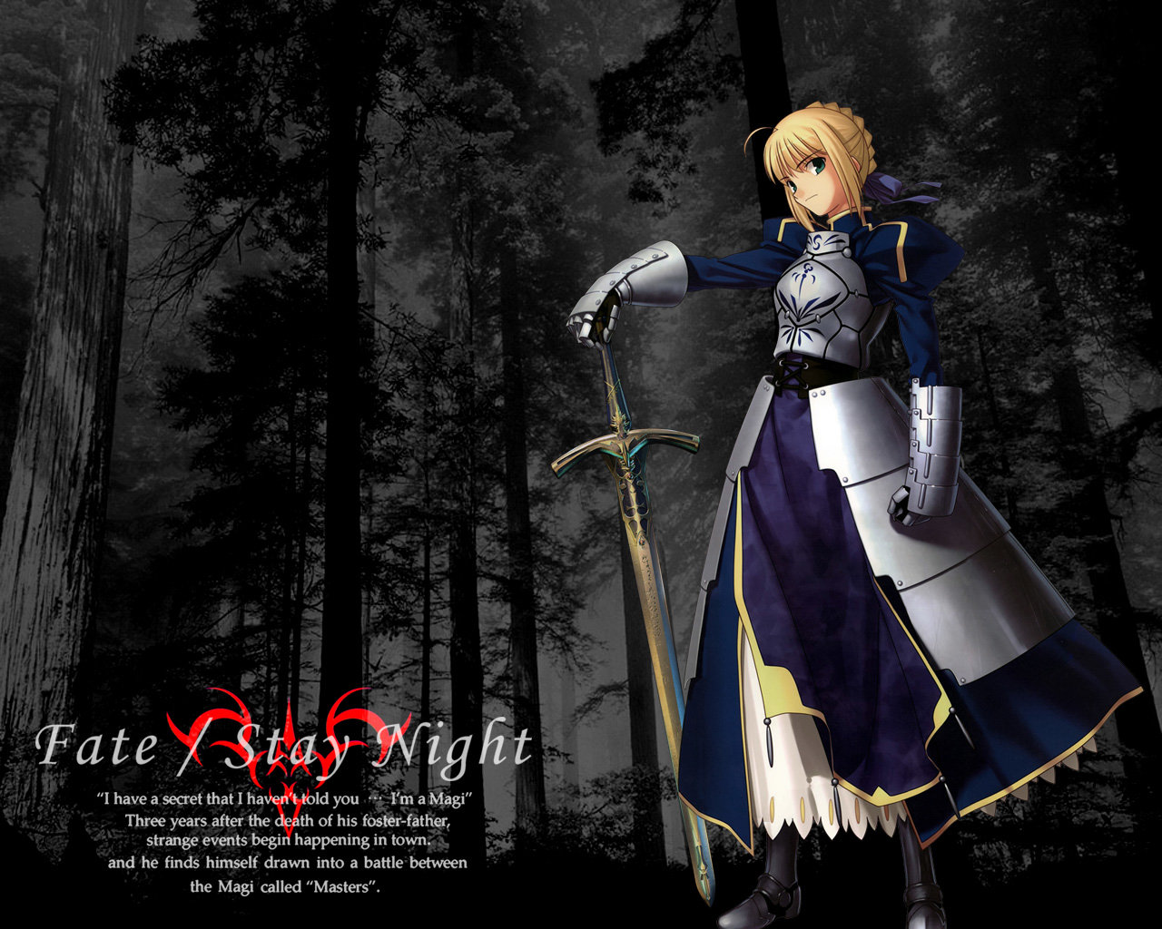 Awesome Saber (Fate Series) free wallpaper ID:468719 for hd 1280x1024 PC