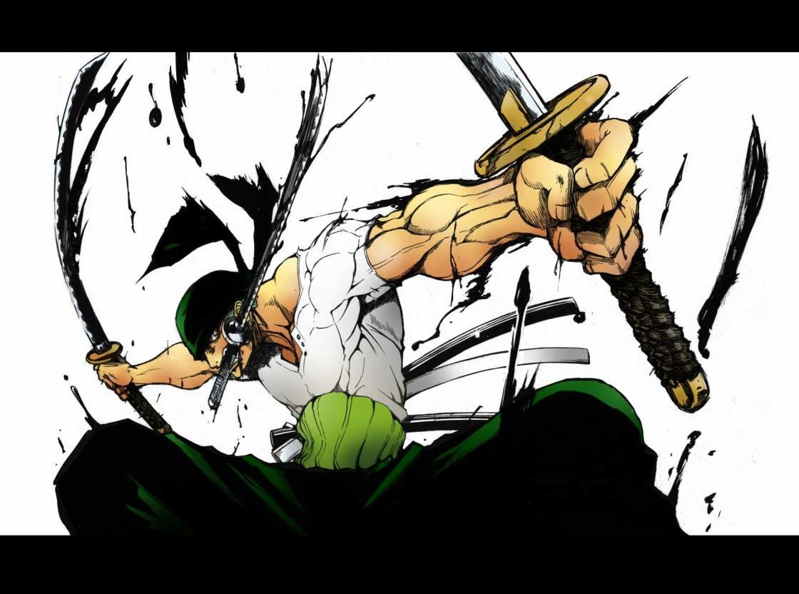 Awesome Zoro Roronoa Free Wallpaper Id 313877 For Hd 1120x832 Pc