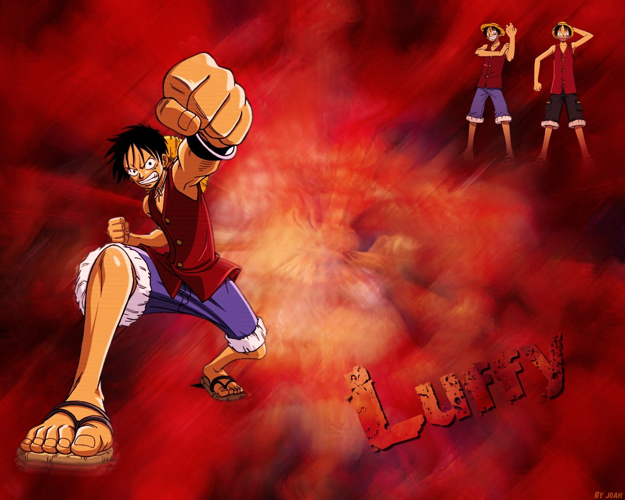 Download hd 1280x1024 Monkey D. Luffy computer wallpaper ID:314601 for free