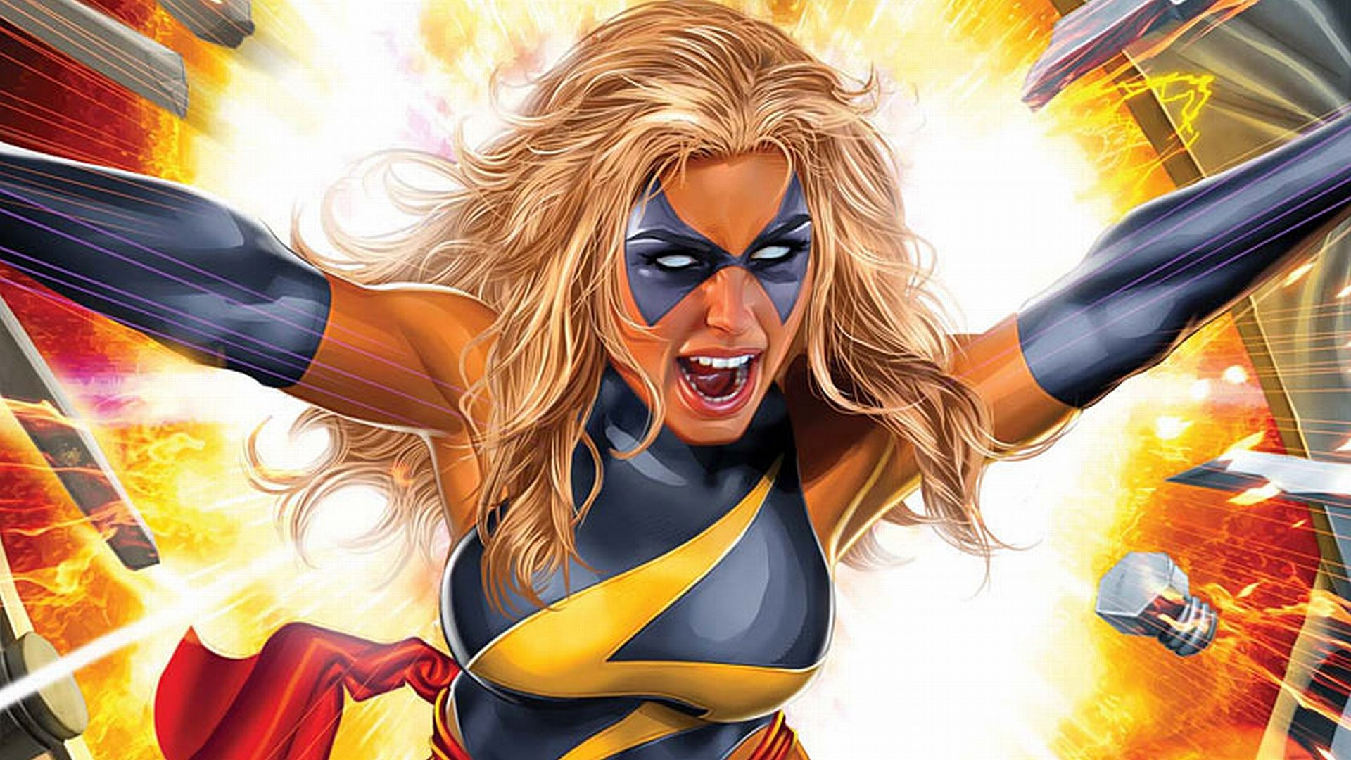 Download 1080p Ms Marvel computer background ID:40015 for free