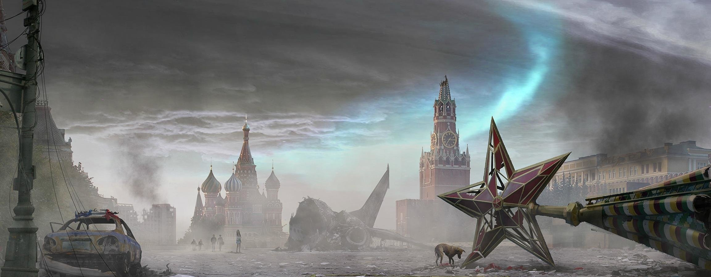 Best Post Apocalyptic wallpaper ID:325186 for High Resolution dual screen 2304x900 desktop