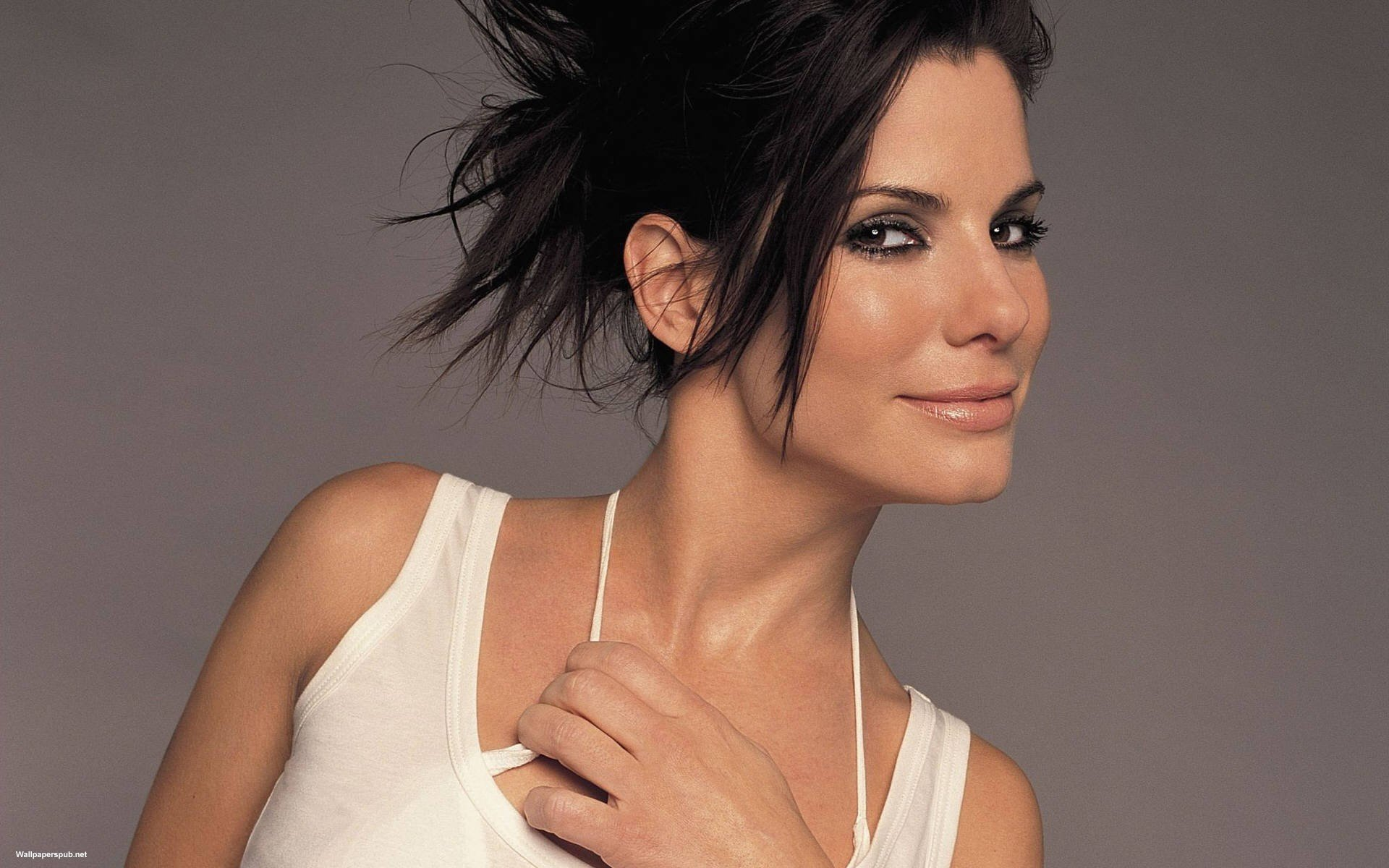 High resolution Sandra Bullock hd 1920x1200 wallpaper ID:211664 for desktop