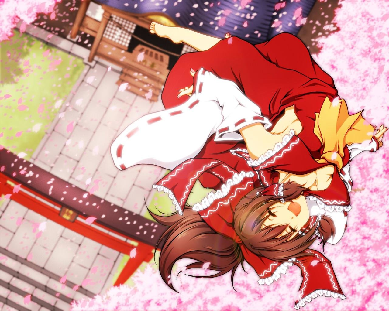 Download hd 1280x1024 Reimu Hakurei PC background ID:225542 for free