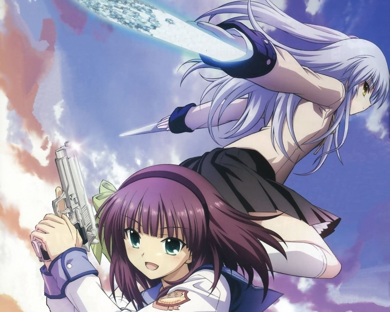 Download hd 1280x1024 Angel Beats! computer wallpaper ID:235283 for free