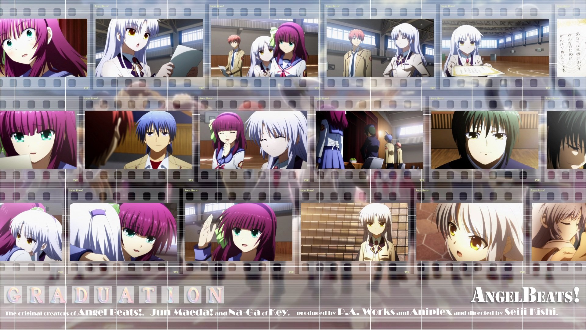 High resolution Angel Beats! hd 1920x1080 wallpaper ID:235346 for PC
