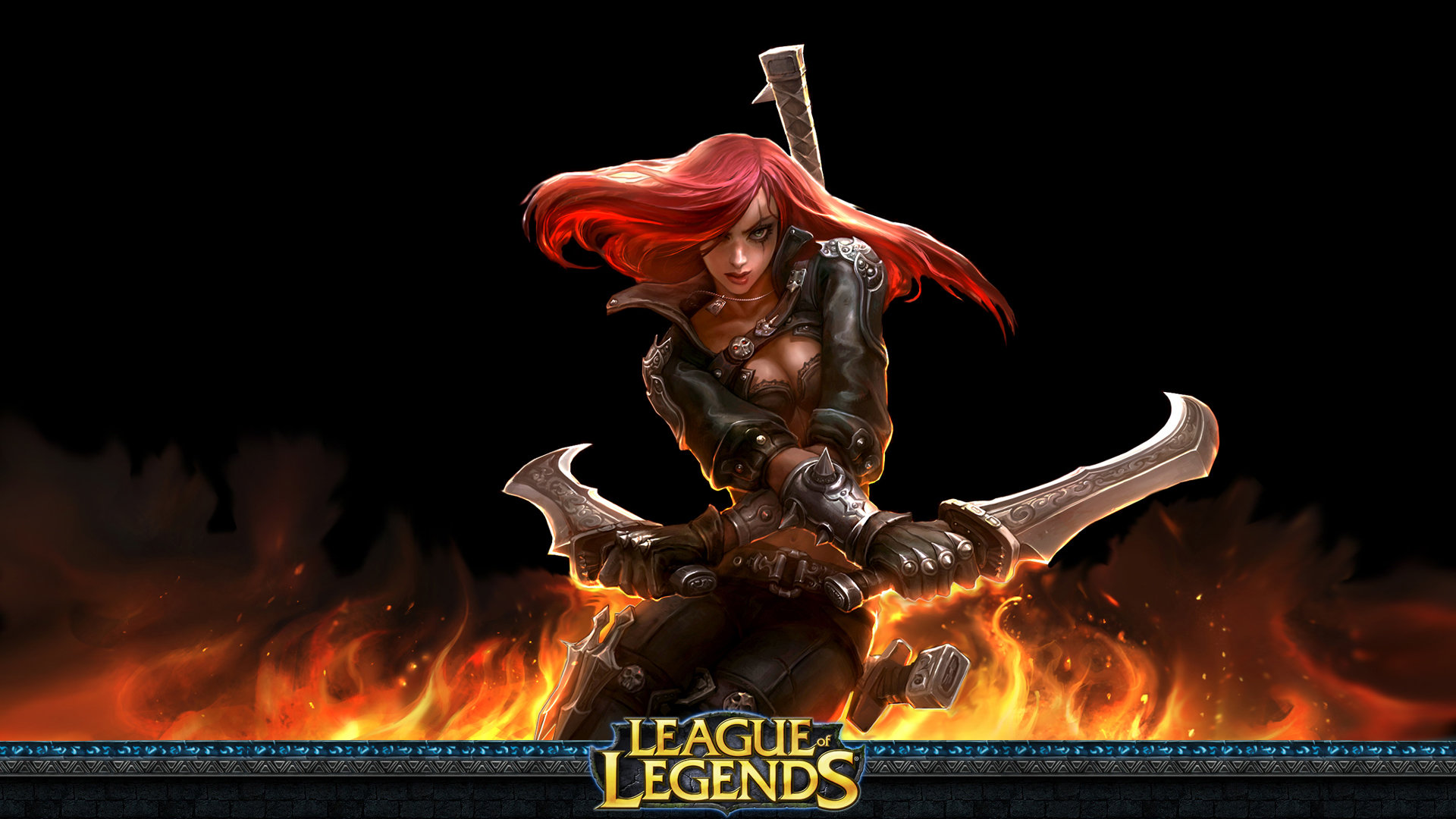 Awesome Katarina League Of Legends Free Wallpaper Id