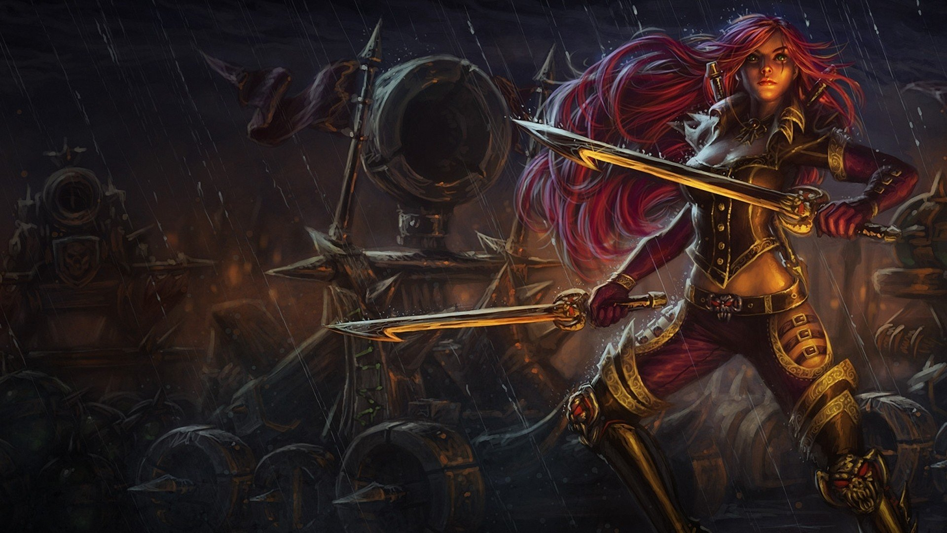 Katarina League Of Legends Wallpapers 1920x1080 Full Hd